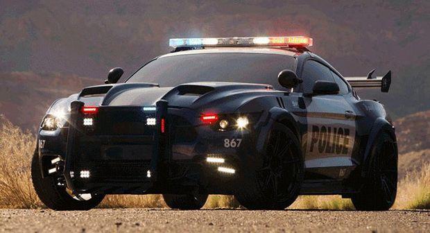 """มาอีกหนึ่งลำ """"Barricade"""" ตำรวจตัวร้ายจากหนังทรานส์ฟอร์เมอร์สล่าสุด"""
