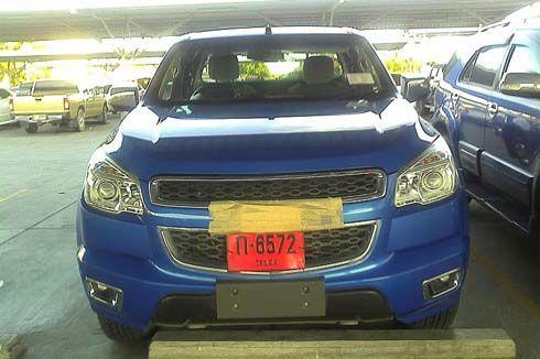 แอบถ่าย All-New Chevrolet Colorado โฉมใหม่ปี 2012 ตัวจริง วิ่งพล่านที่พัทยา