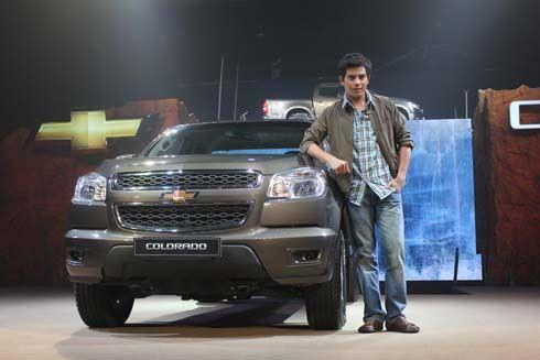 เปิดตัว All-New Chevrolet Colorado ปี 2012 อีกหนึ่งกระบะสุดแกร่ง สไตล์บึกบึนดุดัน