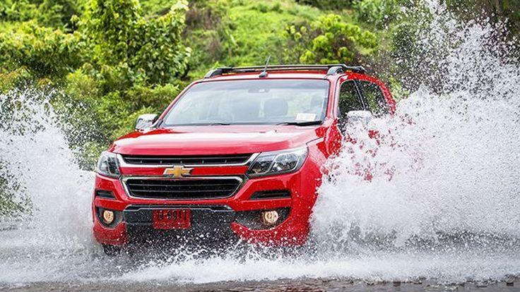 Chevrolet ประกาศราคาจำหน่าย Colorado ตัวท็อป 1.068 ล้านบาท