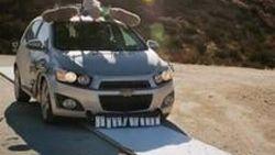 Chevrolet Sonic 2012 ในชุดแต่ง(เครื่องดนตรี)รอบคัน จาก MV ของ OK Go