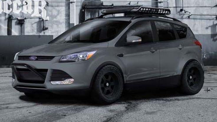 Ford อวดโฉม Escape สองรุ่นสองสไตล์ที่งาน 2012 SEMA Show