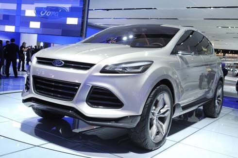 All-New Ford Escape โฉมใหม่ปี 2013 พร้อมปรากฏตัวที่งาน 2011 LA Auto Show