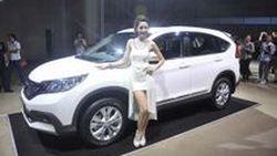 ชมภาพตัวจริง Honda CR-V 2013 โฉมใหม่ พร้อมแต่งสปอร์ตสไตล์ Modulo