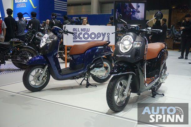 All New Honda Scoopy i ปรับดีไซน์ใหม่ใส่ไฟหน้า LED พร้อมออพชั่นอำนวยความสะดวก เริ่ม 4.81 หมื่นบาท