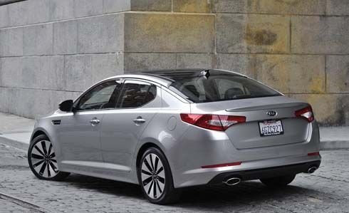 All-New Kia Optima ปี 2011 เปิดตัวในงาน New York Auto Show ก่อนสู้ศึกซีดาน D-Segment
