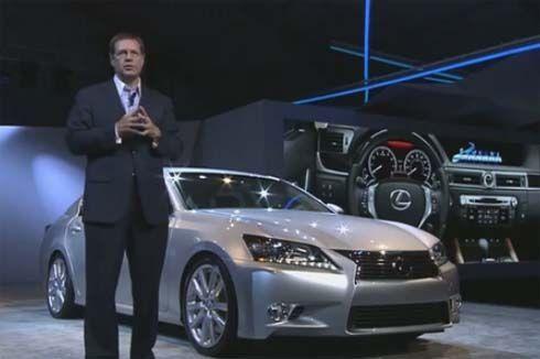 เปิดตัว All-New Lexus GS ปี 2013 ที่ Pebble Beach พร้อมขาย กุมภาพันธ์ปีหน้า