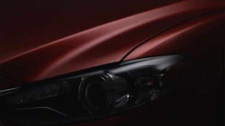 2014 All-New Mazda6 'not TAKERI' รุ่นใหม่ล่าสุด เผยโฉมผ่านทีเซอร์แรก
