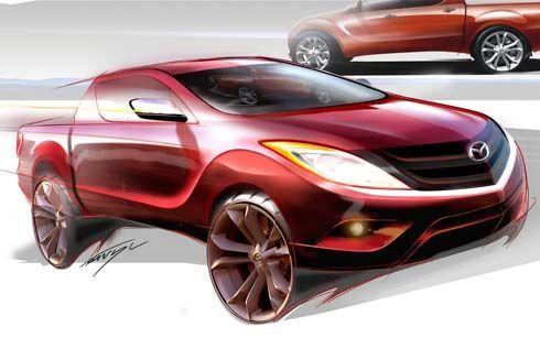 All-New Mazda BT-50 รุ่นปี 2011 ผลิตในไทยส่งขายทั่วโลกกลางปีหน้า เปิดตัว 15 ตุลาคมนี้