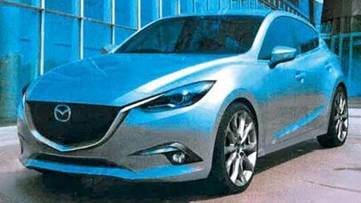 หลุด! All-New Mazda3 ปี 2014 รุ่นปรับโฉมใหม่หมด ในเวอร์ชั่นแฮทช์แบ็ค