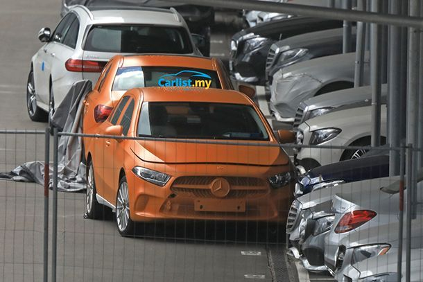 สปายช็อต All-New Mercedes-Benz A-Class โฉบเฉี่ยวยิ่งขึ้น