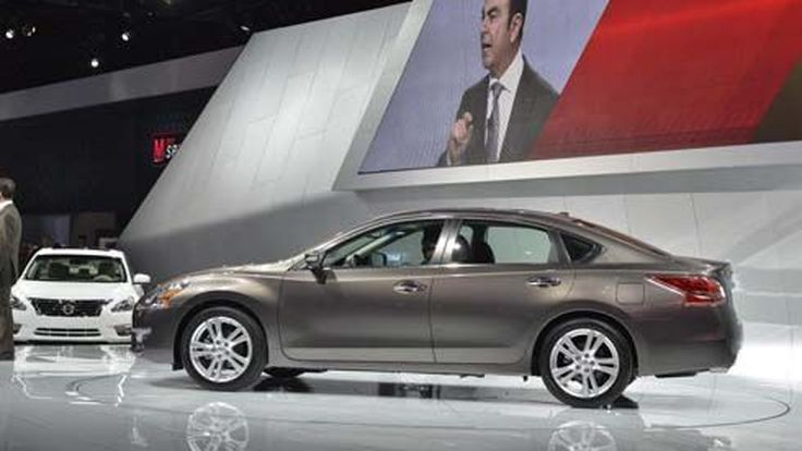 All-New Nissan Altima ปี 2013 รถยนต์ที่ขายดีเป็นอันดับ 2 ในอเมริกา เปิดตัวที่นิวยอร์ค