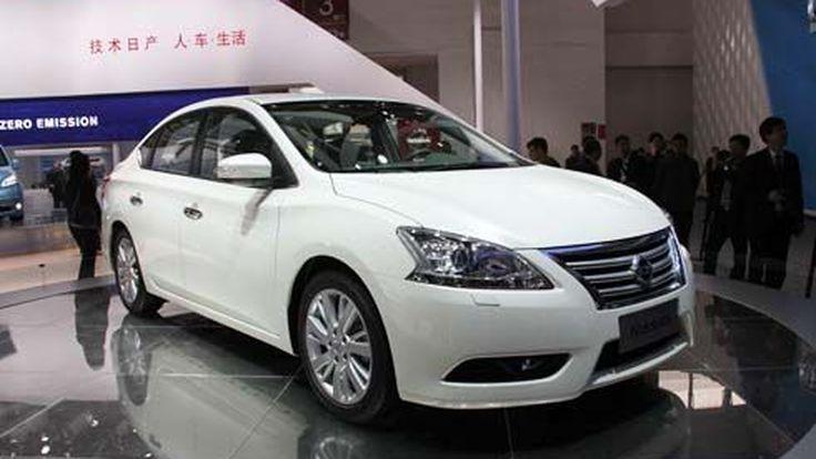 รูปภาพ Nissan Sylphy 2012-2013 ทั้งภายนอกและภายใน ก่อนบุกไทย สิงหาคมนี้