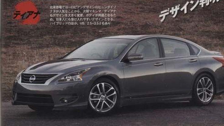 ลือ! All-New Nissan Teana รุ่นปี 2013 โมเดลเชนจ์หน้าตาใหม่ ในโครงสร้างเดิมๆ?