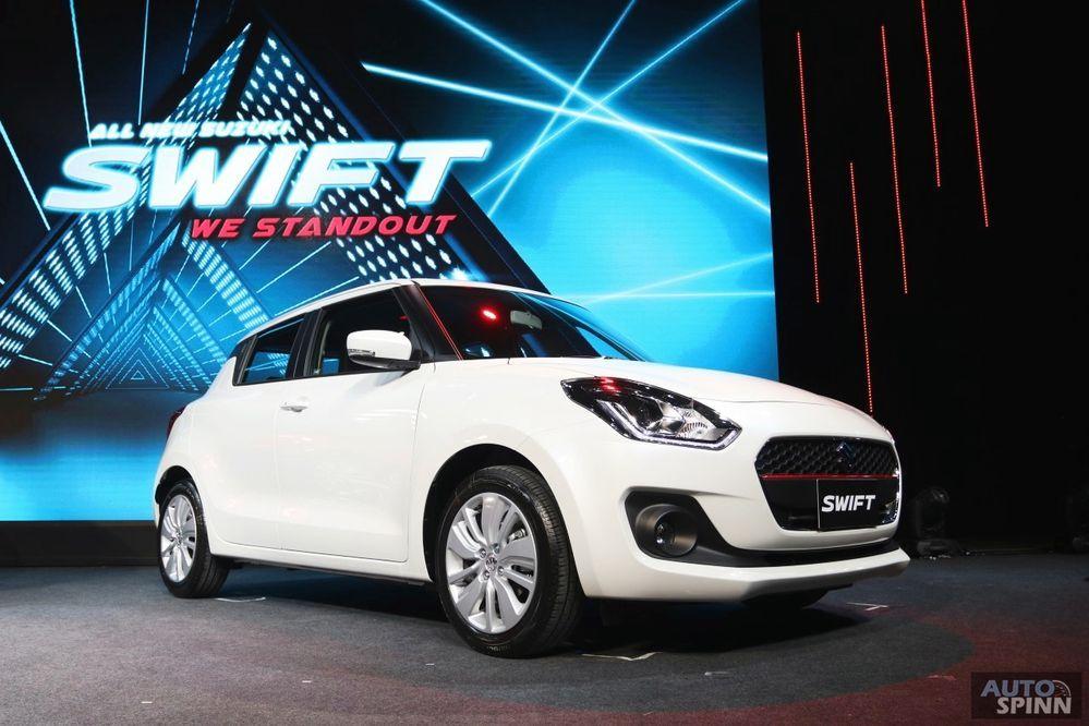 เปิดตัวแล้ว !! All New Suzuki Swift โฉมใหม่ เครื่องใหม่ Dual JET เคาะราคา 4.99-6.29 แสนบาท