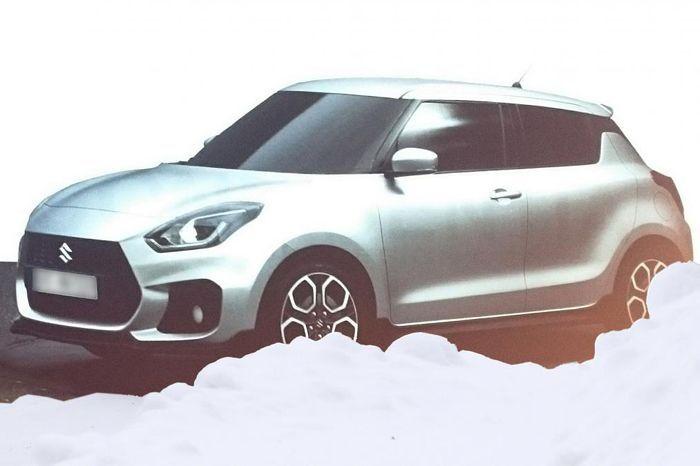 เปิดภาพหลุด Suzuki Swift เจนเนอเรชั่นใหม่