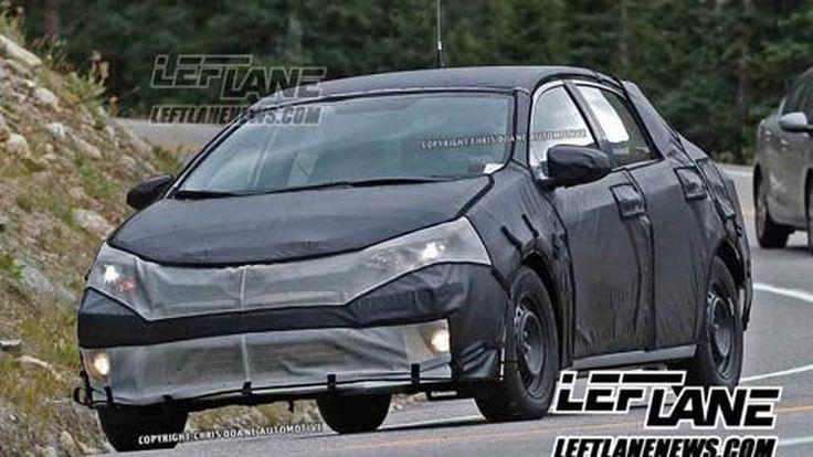 สปายช็อต! All-New Toyota Corolla (Altis) รุ่นปี 2013-2014 ในอเมริกา