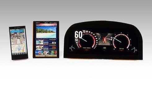บริษัทชั้นนำญี่ปุ่น ร่วมใจนำเสนอ 'หน้าจอ LCD' แทนที่มาตรวัดแบบดั้งเดิม