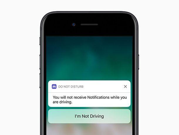Apple ส่ง iOS 11 มาพร้อมโหมด Do Not Disturb ขณะขับขี่