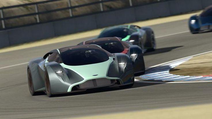 Aston Martin DP-100 Vision Gran Turismo อีกหนึ่งรถแข่งสำหรับคอเกม