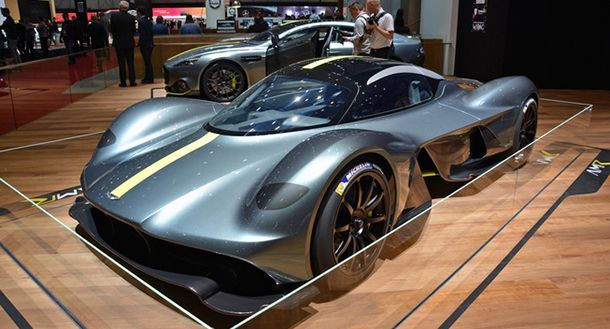 Aston Martin คอนเฟิร์มผลิตรถสปอร์ตเครื่องยนต์กลางลำอีกรุ่น