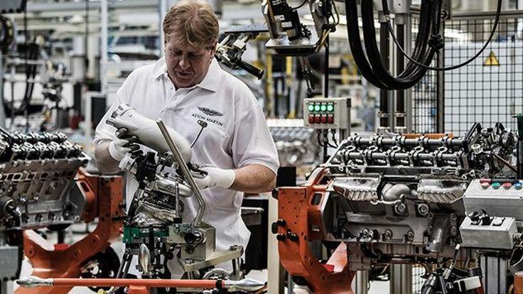 Aston Martin ใช้เวลา 8 ชั่วโมงต่อการผลิตขุมพลัง V12 ใน DB11