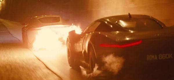 แอสตัน มาร์ติน ดีบี10 โชว์พ่นไฟในหนังเจมส์ บอนด์ภาคล่าสุด