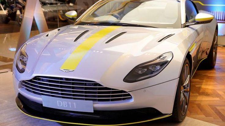 Aston Martin เปิดตัวรถสปอร์ตรุ่นใหม่ DB11 AMR PERFORMANCE