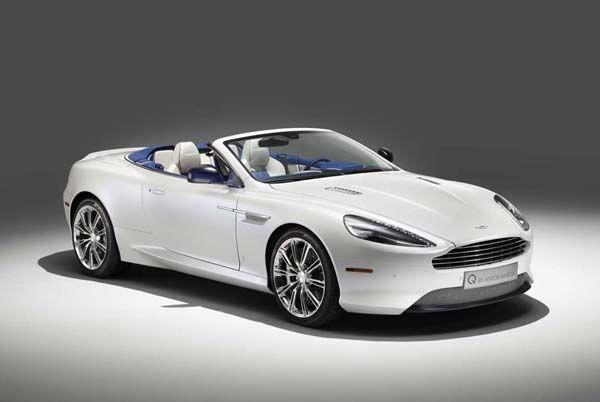 Aston Martin DB9 Volante Morning Frost สวยเนี๊ยบแบบผู้ดี