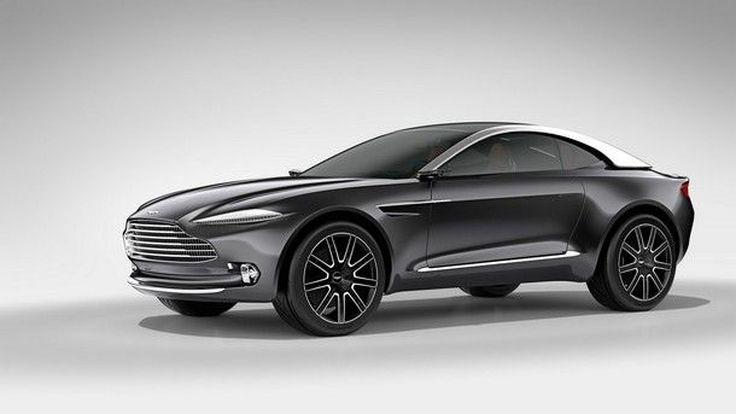 แฟน SUV หรูเตรียมเงินได้เลย Aston Martin DBX เตรียมเปิดตัวก่อนปี 2019 นี้แน่นอน