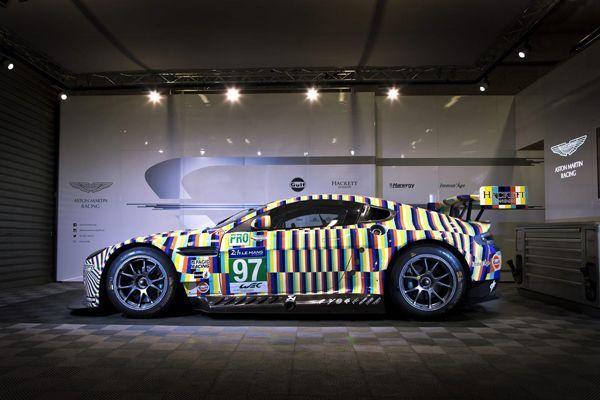 Aston Martin โชว์ฝีมือตกแต่ง Rehberger Vantage GTE Le Mans