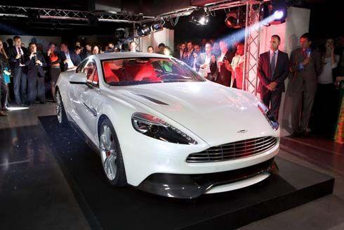 Aston Martin Vanquish 2013 ในภาพและวิดีโอชุดใหม่ กับเสียงคำราม!