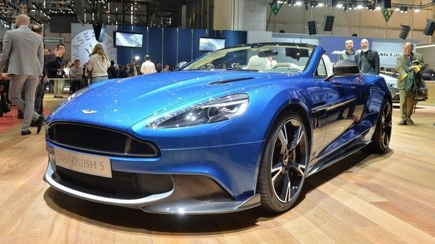 [Geneva 2017] Aston Martin Vanquish S Volante สปอร์ต 600 แรงม้า ที่เซ็กซี่ที่สุด