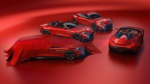 Aston Martin แตกไลน์ Vanquish Zagato เอาใจลูกค้ากระเป๋าหนัก