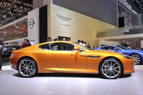 Aston Martin Virage สีส้มสดใส 490 แรงม้า ตั้งตระหง่านอวดโฉมที่เจนีวา