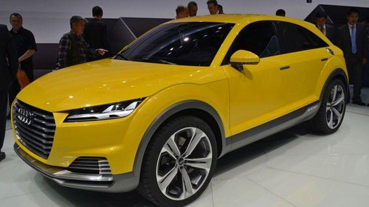 Audi อาจขยายไลน์รถสปอร์ต TT เพิ่มตัวถังครอสโอเวอร์