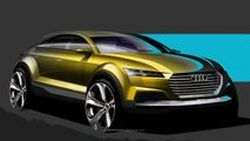 [AutoChina2014] Audi เผยภาพสเก็ตช์รถต้นแบบ Q4 ว่าที่คู่แข่ง BMW X4