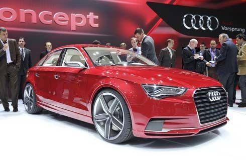 Audi A3 Concept Sedan คอมแพคท์คาร์หรูดูสปอร์ต เปิดตัวที่ Geneva Motor Show