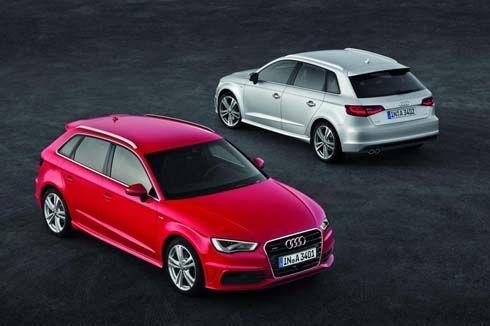เปิดภาพตัวจริง Audi A3 Sportback 2013 คอมแพกต์พรีเมียม 5 ประตู