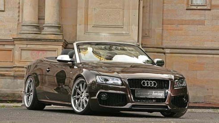 Audi A5 Cabriolet เพิ่มกำลังม้า แต่งหน้าแต่งตาให้ดูดี โดยสำนักแต่งเจ้าเก่า Senner Tuning