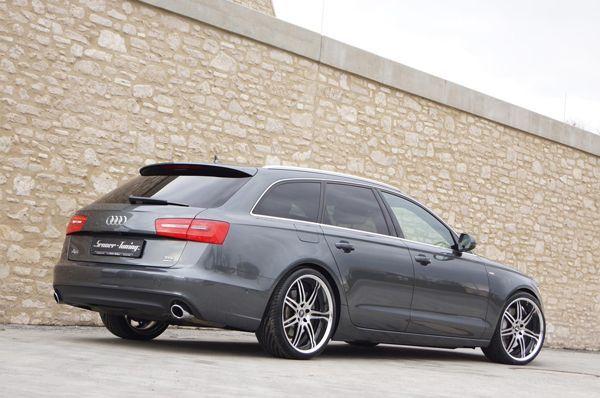 Audi A6 Avant โมดิฟายด์สุดงามโดยสำนัก Senner Tuning