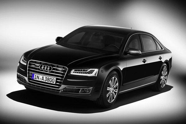 รถเจ้าพ่อ Audi A8 L Security ซีดานกันกระสุนสุดหรูสำหรับวีไอพี