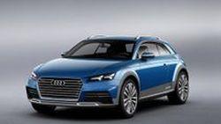 เปิดตัว Audi Allroad Shooting Brake รถต้นแบบ TT ไฮบริด 408 แรงม้า