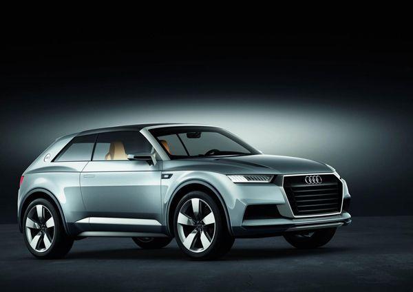 เผยโฉม Audi Crosslane Coupe Concept ต้นแบบรถอเนกประสงค์ Q2