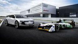 Audi เผยโฉม E-Tron FE04 รถแข่งประเดิมสนามฟอร์มูล่าอี