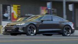 พาชม Audi e-tron GT Concept วิ่ง Test Drive รอบๆ Los Angeles
