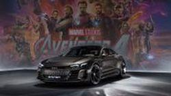The Audi E-Tron GT พลังไฟฟ้าพร้อมอวดโฉมในมหาภาพยนตร์ Avengers 4 จาก Marvel