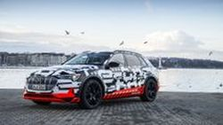 2019 Audi E-Tron พร้อมเทคโนโลยีจ่ายค่าทางด่วนอัตโนมัติ