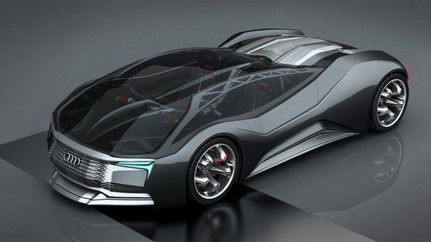 สุดล้ำ Audi เปิดเผยแนวคิดการออกแบบ F-Tron Concept รถยนต์พลังงานนิวเคลียร์