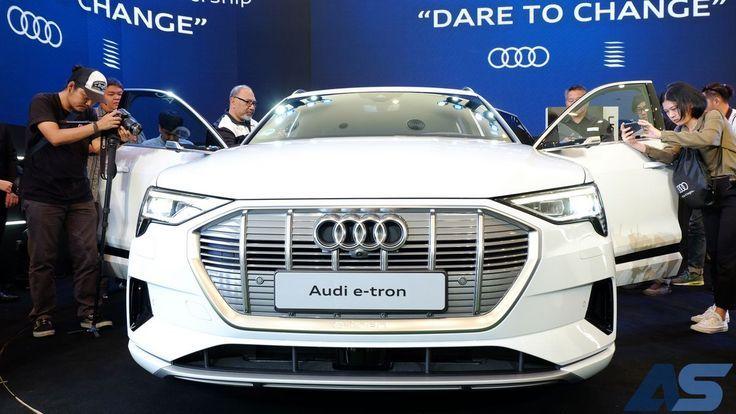 อาวดี้เปิดตัว Audi e-tron 55 quattro เอสยูวีพรีเมียมขุมพลังไฟฟ้า ค่าตัว 5.099 ล้านบาท